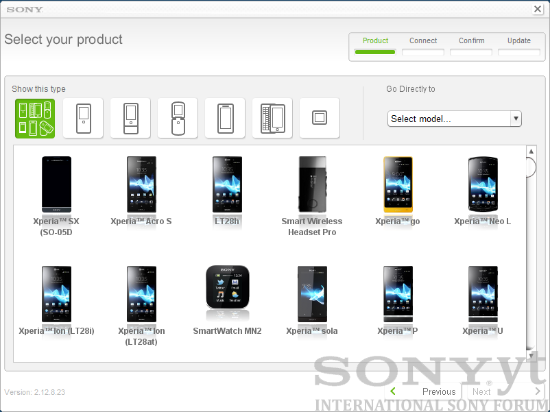 sony update service.PNG
